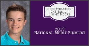 National Merit Finalist Jimmy Moore