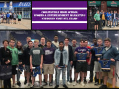 CHS Sports/Entertainment Marketing Class Visits the Big Leagues