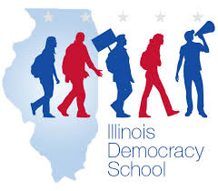 IL Democracy School Logo