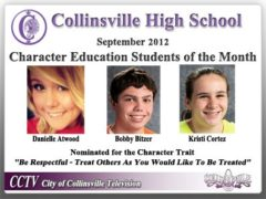 CHS Character Education Students of the Month Named for November