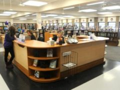 Collinsville High School library gets a facelift