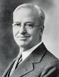 Charles H. Dorris Superintendent from 1900 - 1937