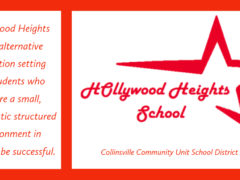 HH School logo and description