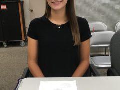 Photo of Collinsville Student School Board Member Valerie Weeks