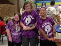 Special Olympics Bowlers