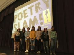 Photo of Participants in the Collinsville High School 2017 Poetry Slam
