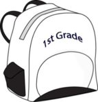 First Grade Backpack