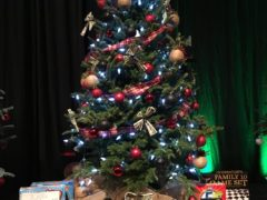 Collinsville Middle School tree for Festival of Trees 2017
