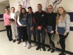 CHS students who volunteered as translators for Toys for Tots