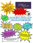 2018 CMS Reading Night Flier