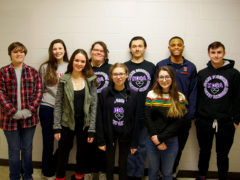 Students who qualified for state HOSA competition