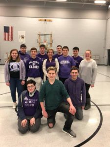 CHS STEM Club and Robotics Team Members