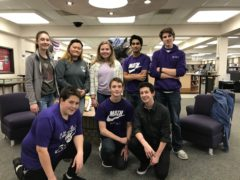 Members of CHS Science Olympiad Team
