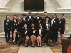HOSA State Qualifying Team March 2018