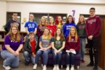 Group of CHS students on academic signing day