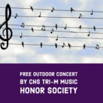 Music Honor Society Hosting Outdoor Community Concert
