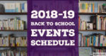 Back to School Schedule Graphic