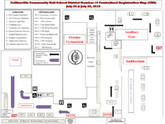 Map for CUSD 10 Centralized Registration at CHS