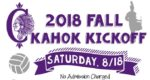 2018 Fall Kahok Fall Kickoff August 18 2018