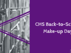 Graphic for CHS 2018 Make up Day