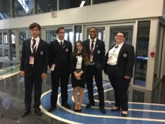 2018 Kahok HOSA Team at Nationals
