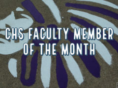 Trapp & Fedorchak are CHS Faculty of the Month