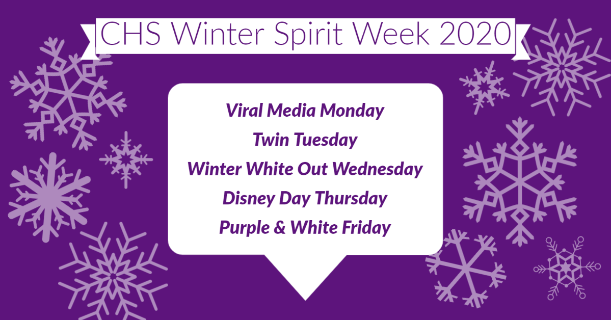 CHS January 2020 Winter Spirit Week