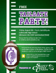 Tailgate Party at CHS Before Kahok Football Home Opener
