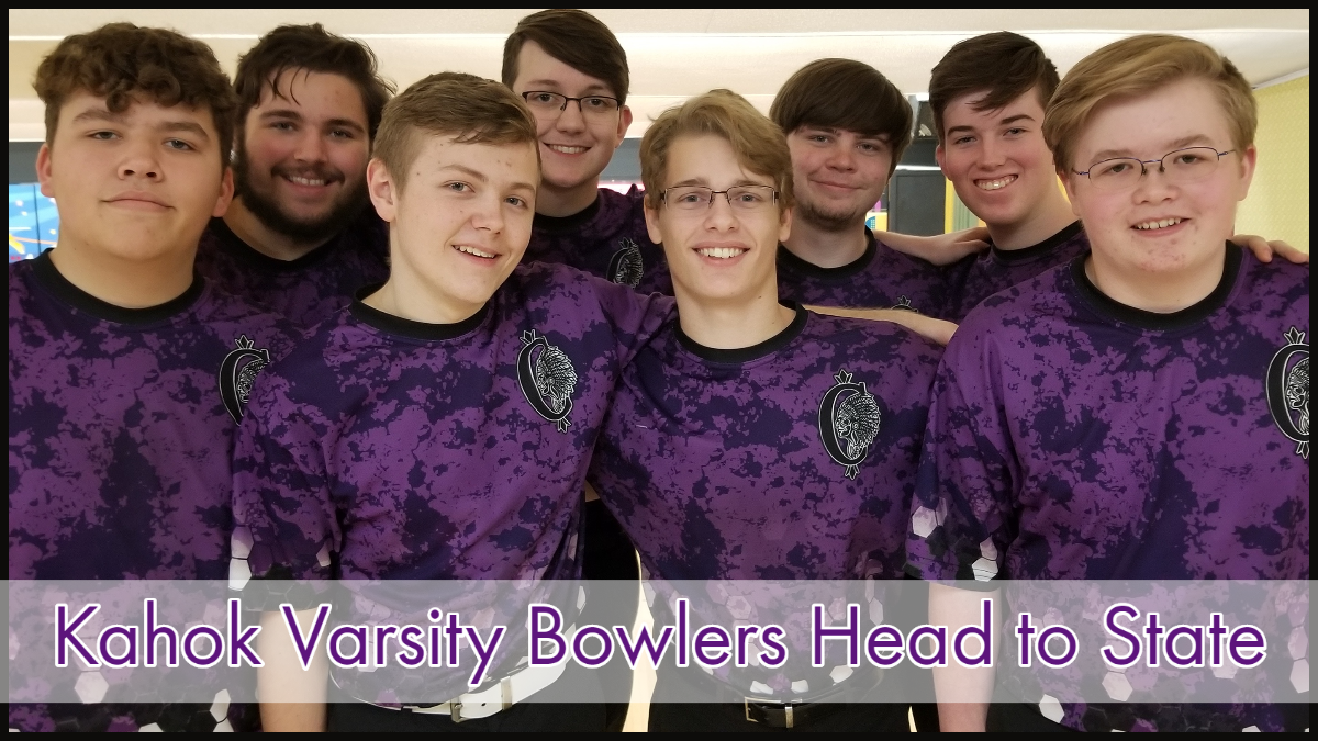 Kahok Varsity Bowlers Headed to State Jan 2020