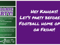 Scott Credit Union Tailgate Party Before 2019 Home Football Opener