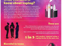 Vaping Dangers Poster