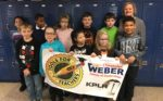 Summit's Stephanie Pulse and class with KPLR banner Nov 2018