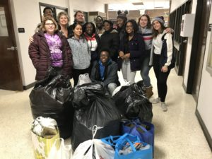 CHS 2018-19 Co-op Class with Coat Donation