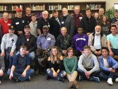 Local Veterans and CHS students at annual lunch