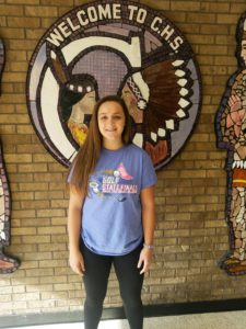 Claire Rendleman Athlete of the Month