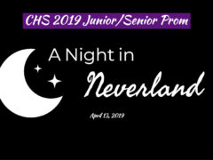 """CHS """"A Night in Neverland"""" 2019 Prom Packet"""