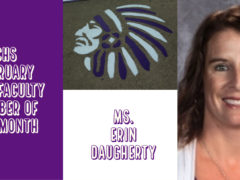 Ms. Daugherty is February 2019 CHS Faculty Member of the Month