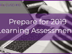 2019 Learning Assessments Begin in March