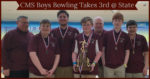 2019 CMS Boys Bowling Team and Coaches