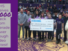 CHS Wins $10,000 for Athletics in Powerade Video Contest