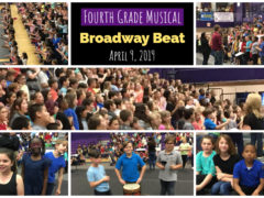 "Fourth Graders Present 2019 Musical ""Broadway Beat"""