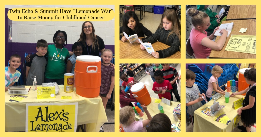 Collage of Lemonade Stand Photos