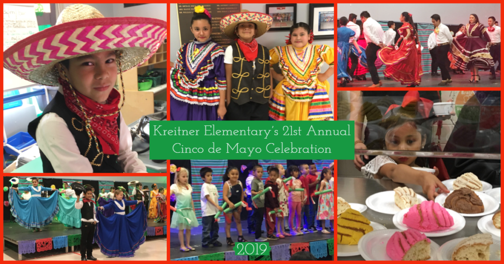 Photo collage from 2019 cinco de mayo festival