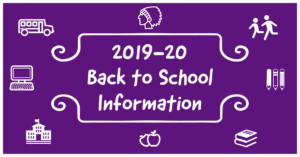 Back to School 2019-20 Graphic