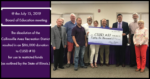 CARD Check Presentation to CUSD 10 Board