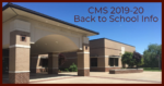 CMS Back to School Information Graphic