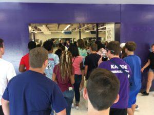 Students at 2019 CHS Freshman Orientation