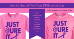 Kahokstrong 2019 Pink Out Order