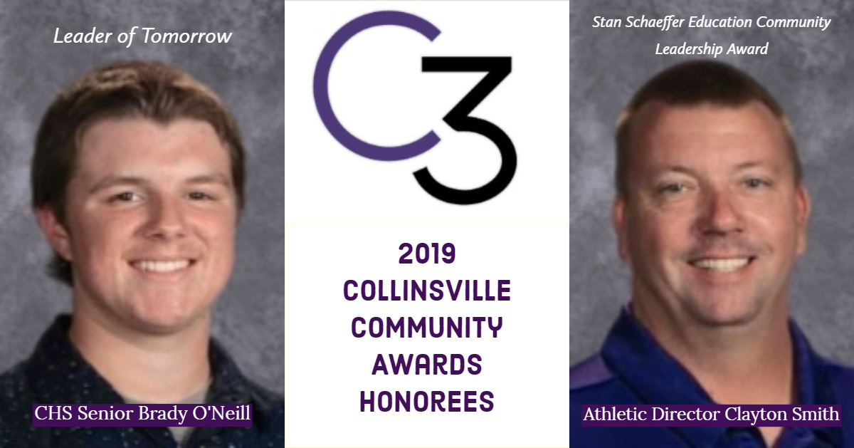 C3 Honorees O'Neill and Smith 2019