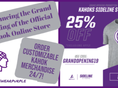 Kahok Athletics Announces New Online Store